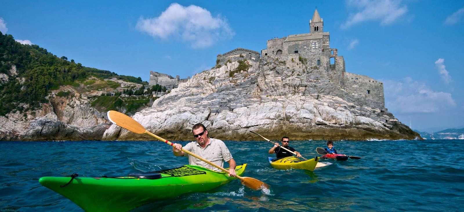 Voyage sur l'eau Italie : Les 5 terres en Kayak