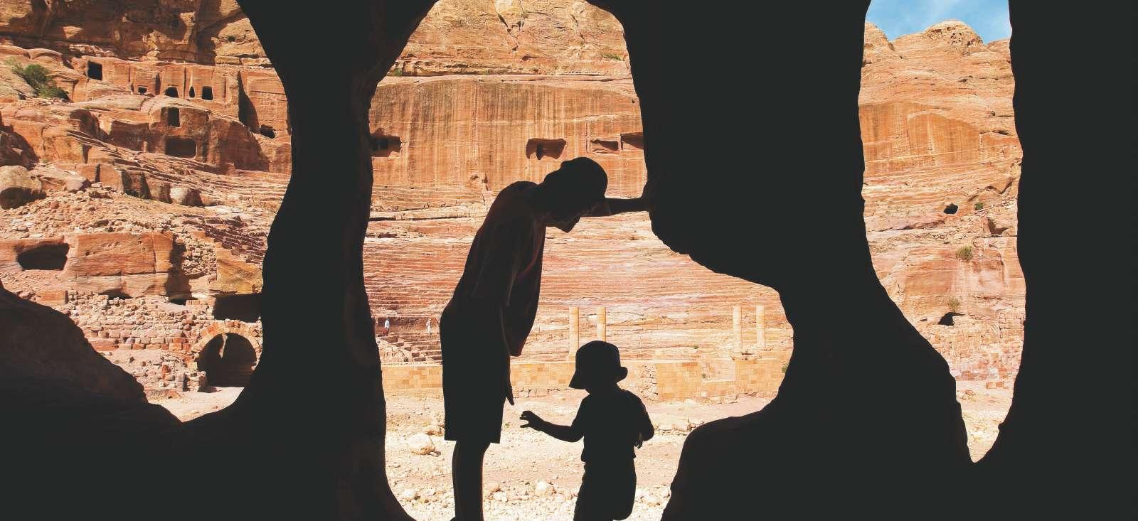 Voyage à pied Jordanie : Pétra et ses trésors