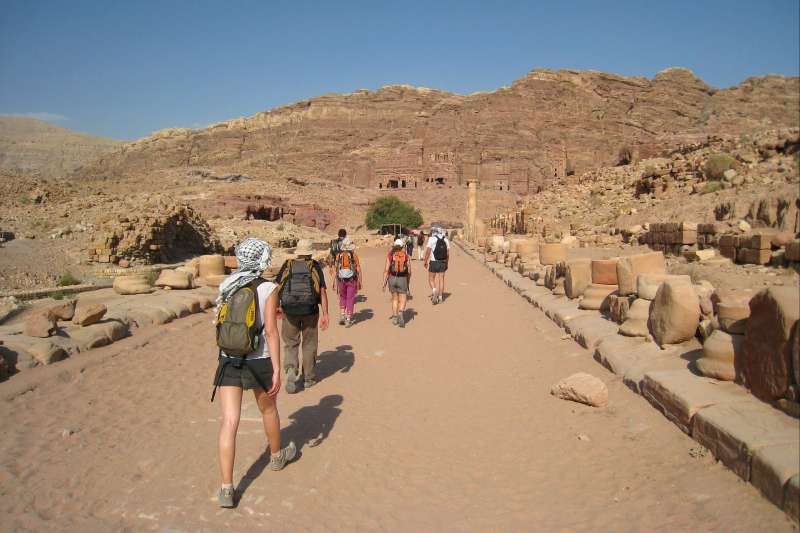 Voyage à pied : Jordanie Intégral en formule confort