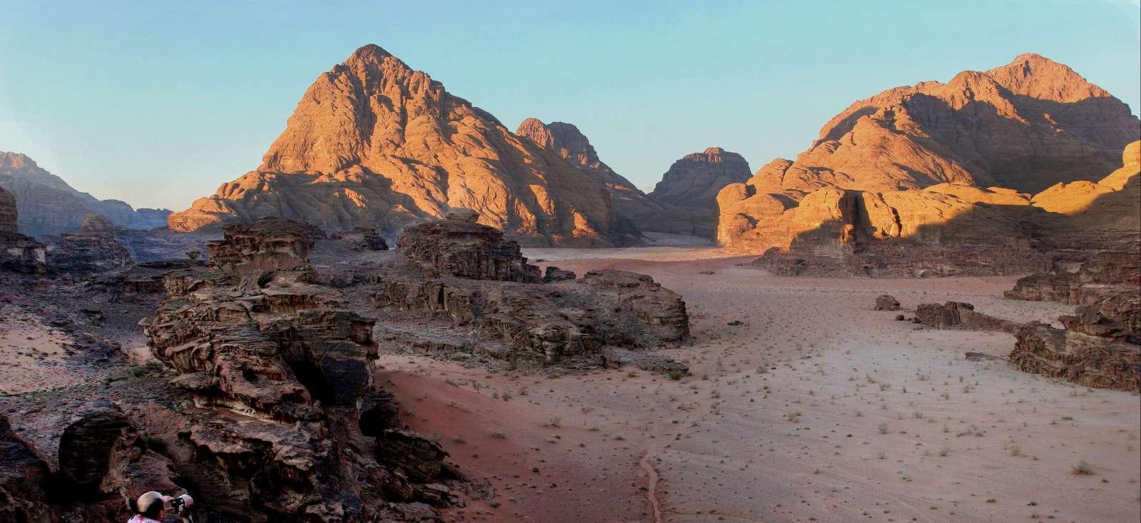 Voyage à pied : Jordanie & Sultanat d\'Oman, aventure bédouine
