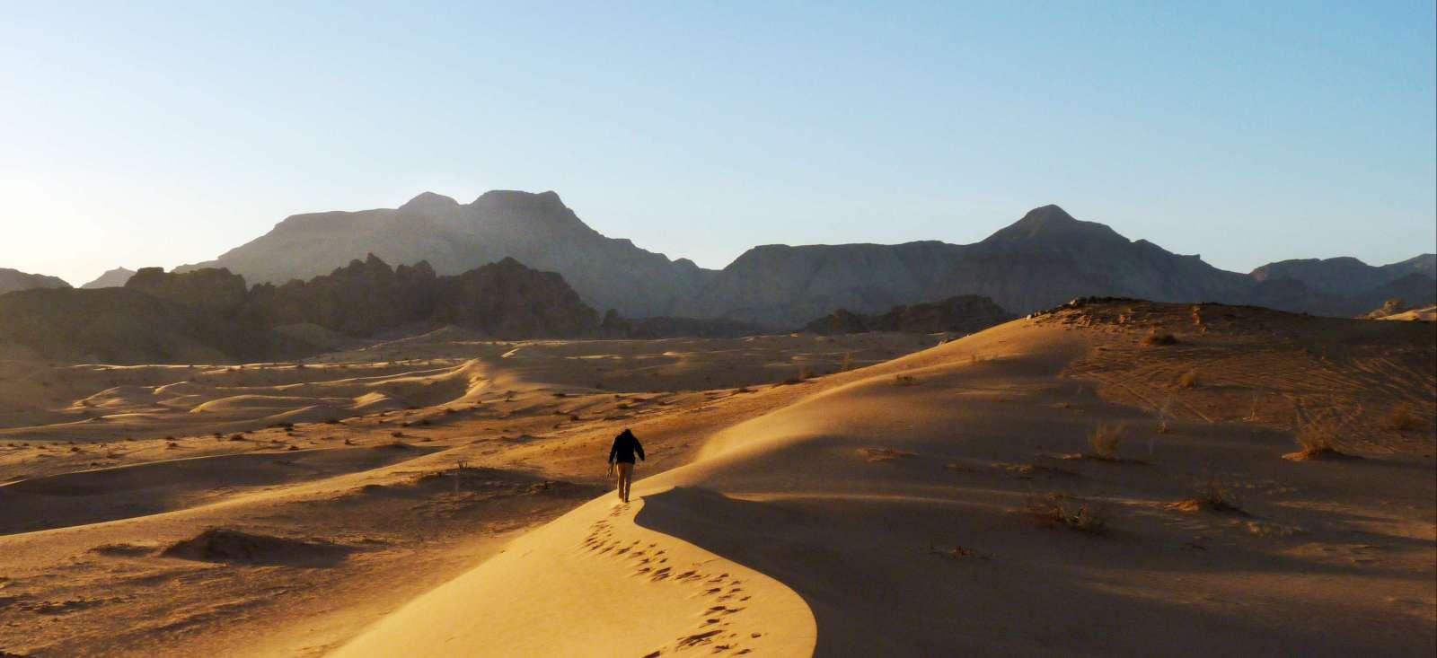 Voyage à pied : Wadi Rum, à Petra par la vallée arc-en-ciel