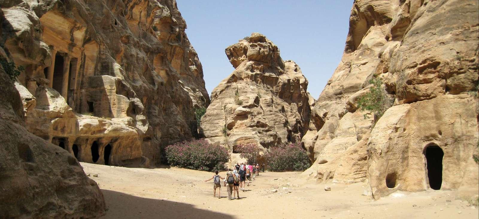 Voyage à pied : Le meilleur de la Jordanie tout confort !