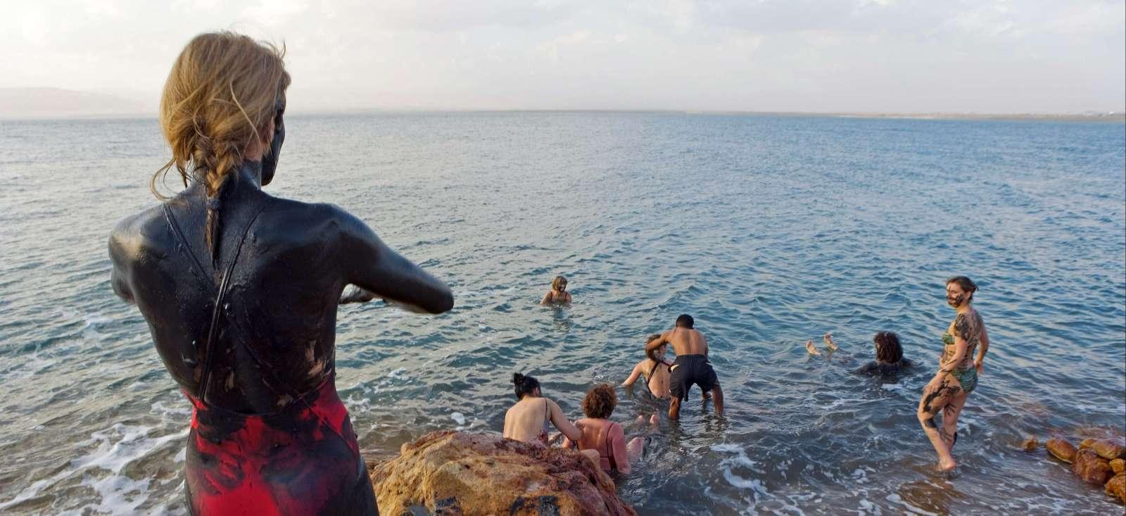 Voyage à pied : Cool sur la Mer Morte!