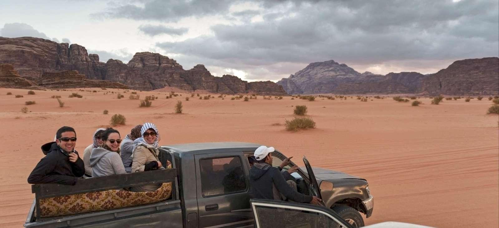 Voyage à pied : La Jordanie pour les grands et les petits
