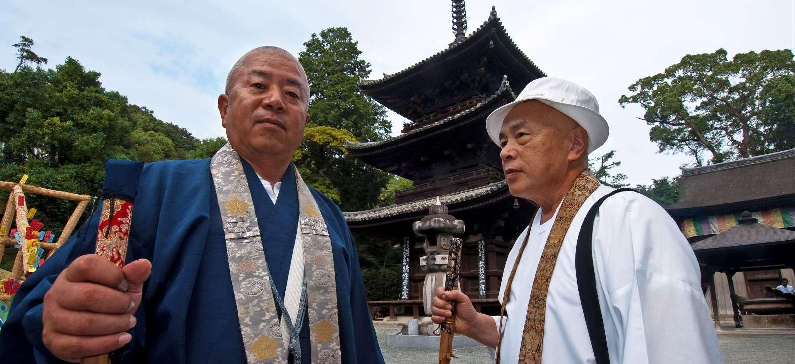 Voyage à pied : Bons baisers de Shikoku