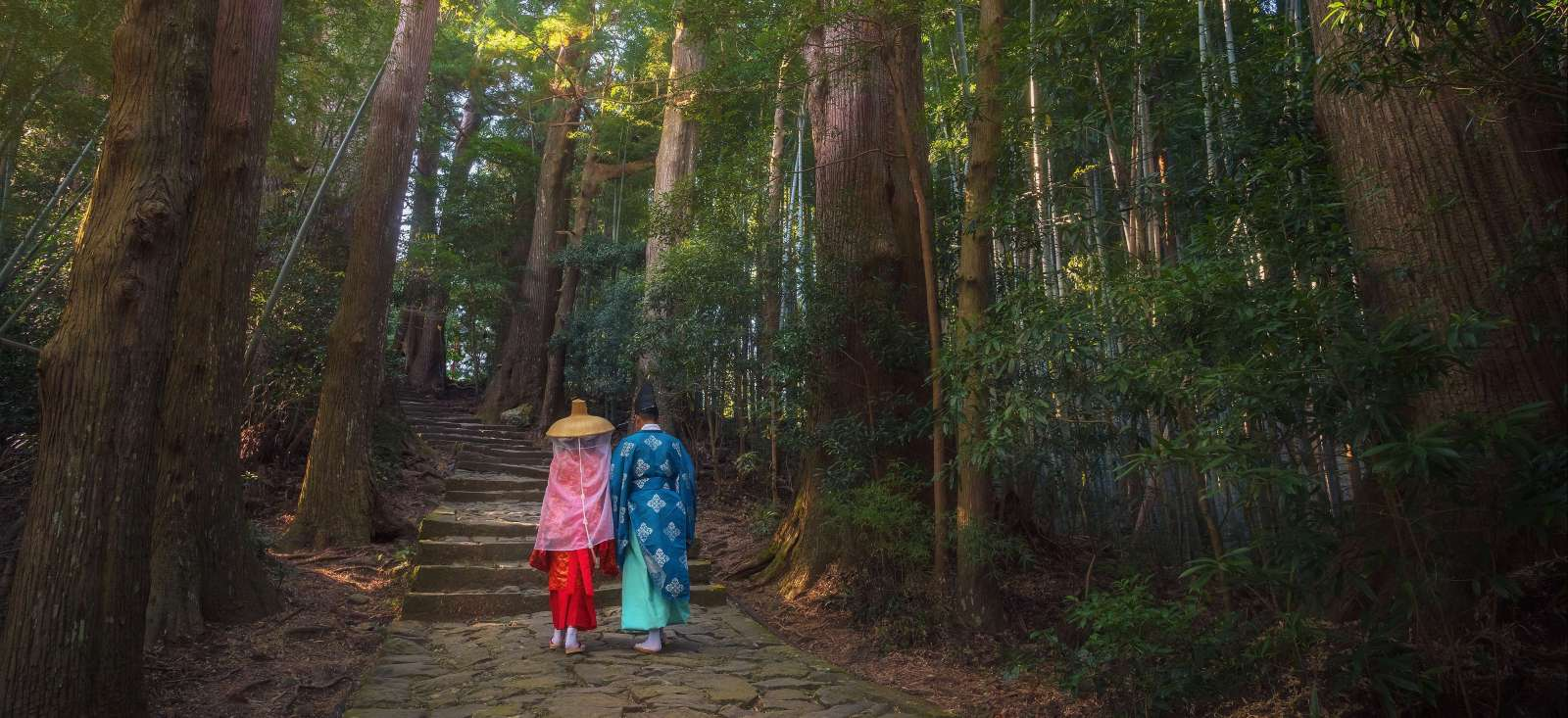 Voyage à pied : Chemins du Kumano Kodo  + Tokyo