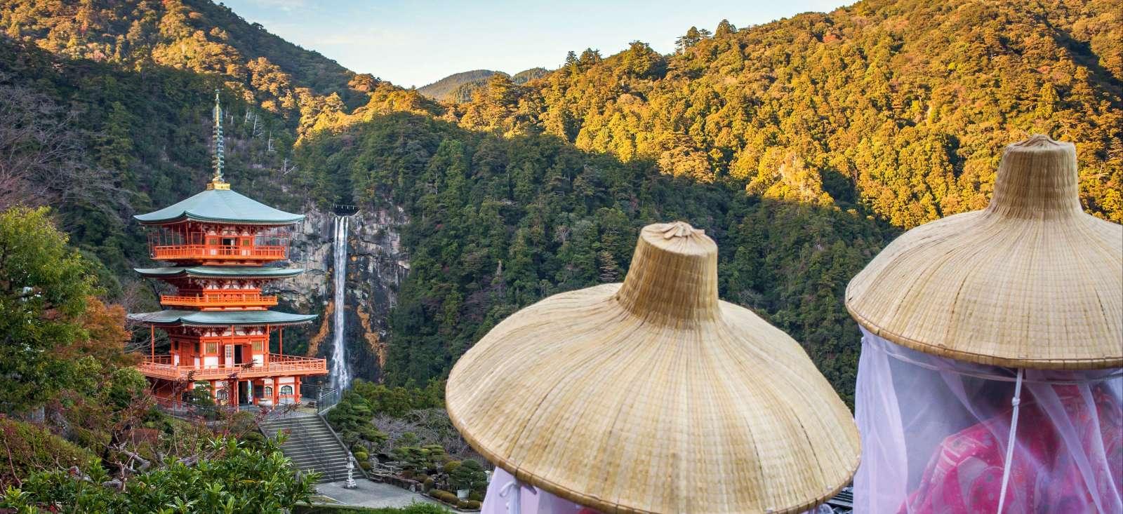 Voyage à pied : Sur les chemins légendaires du Kumano Kodo
