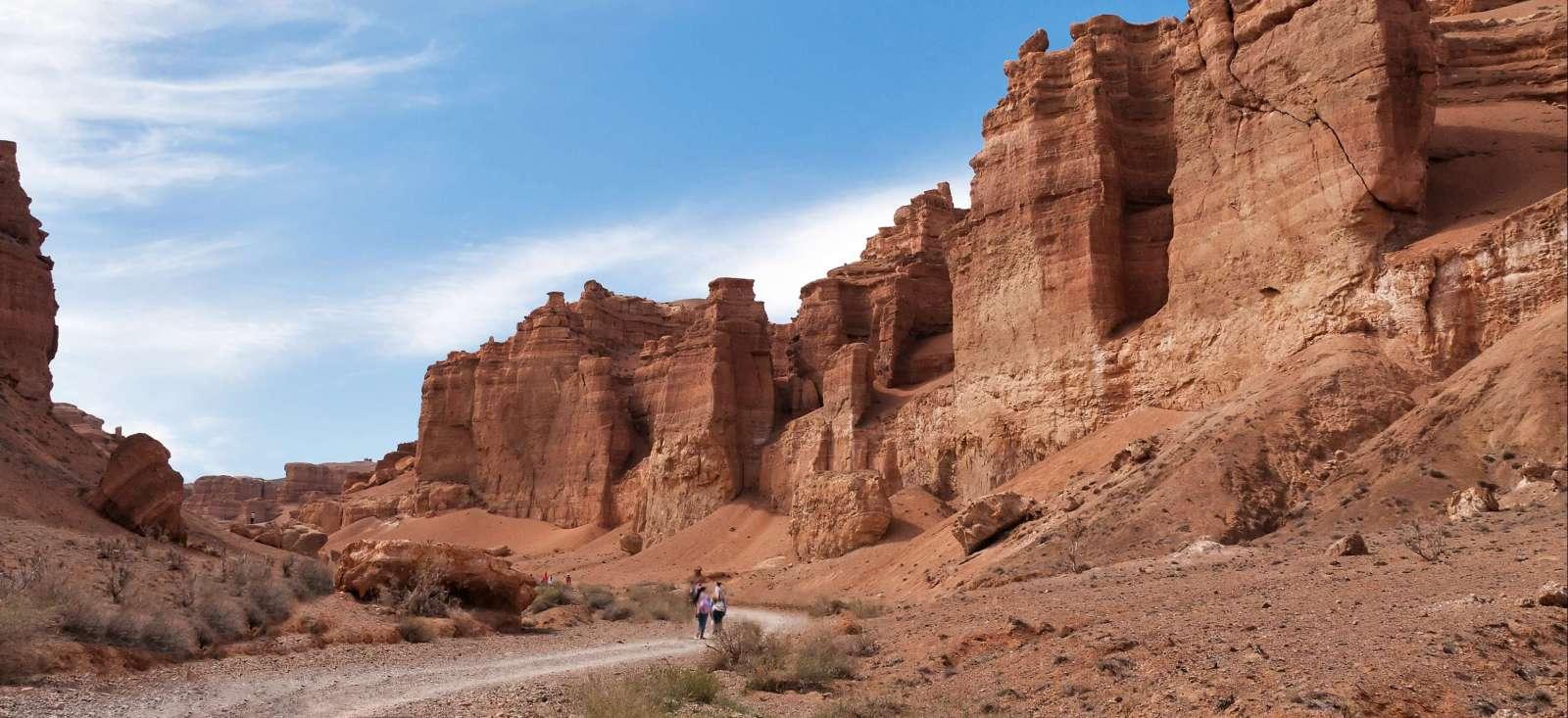 Voyage à pied : Le Kazakhstan, une terre mystérieuse