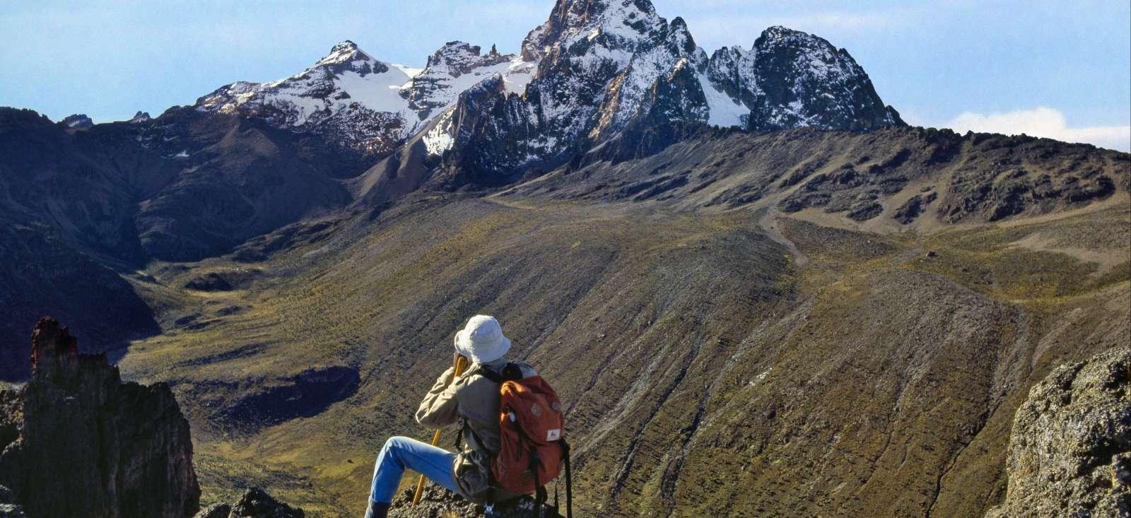 Voyage à pied : Mont Kenya : 2ème sommet d\'Afrique