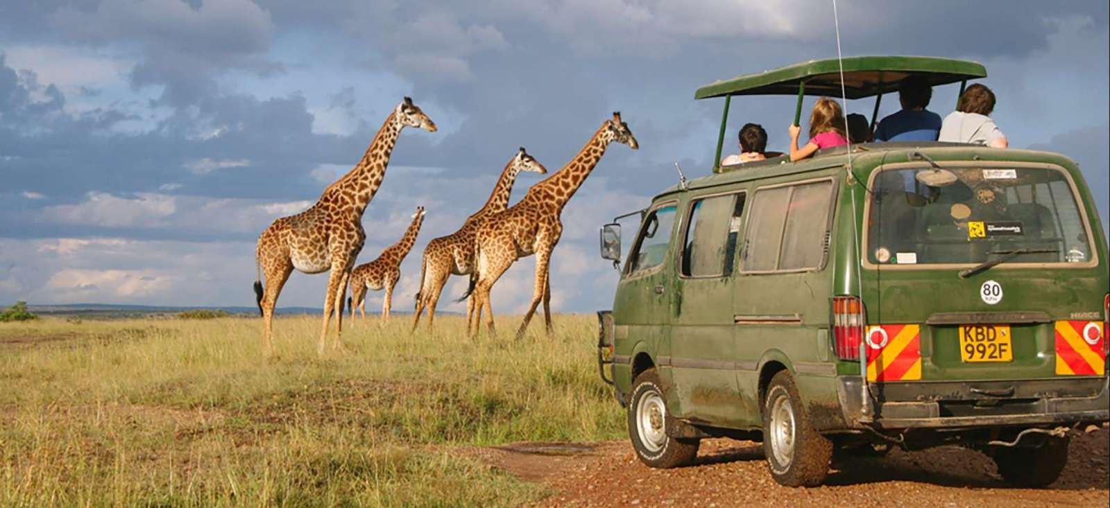 Voyage en véhicule : Il était une fois au Kenya...