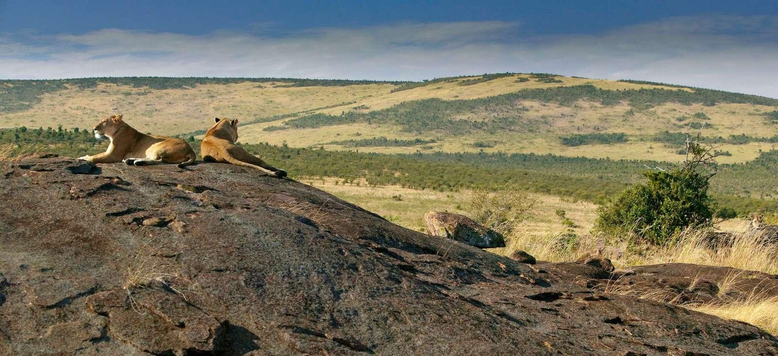 Voyage à pied : Kenya, les vertes collines d\'Afrique