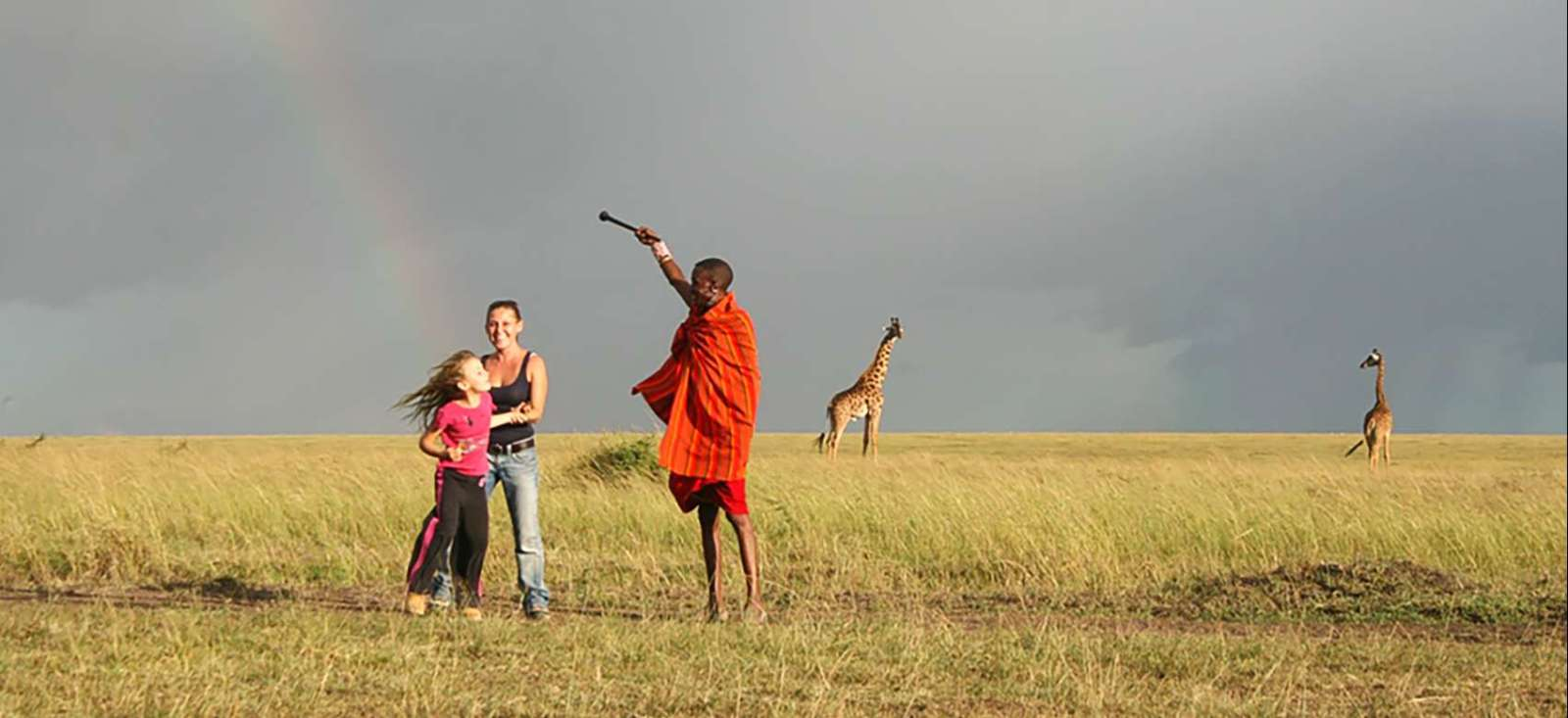 Voyage à pied : Il était une fois au Kenya...