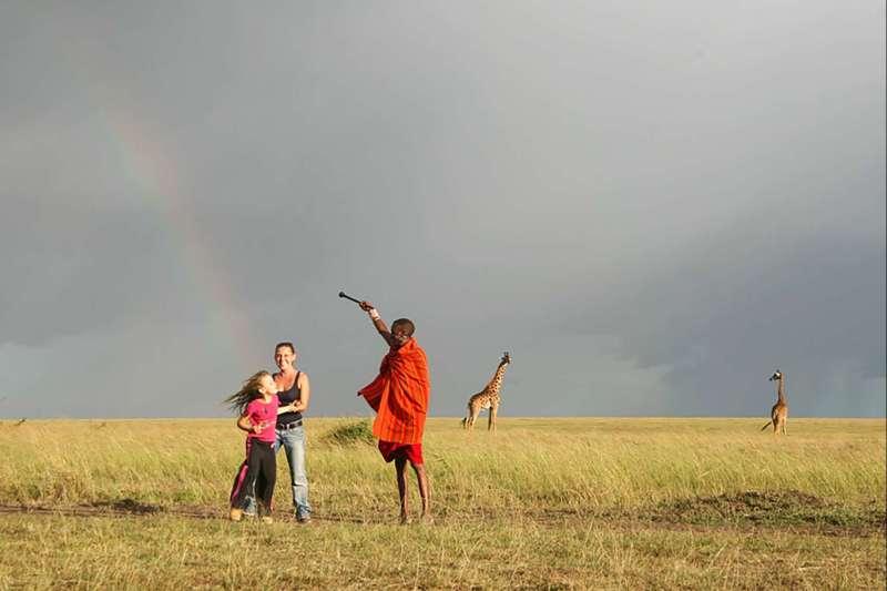 Voyage avec des animaux : Il était une fois au Kenya...