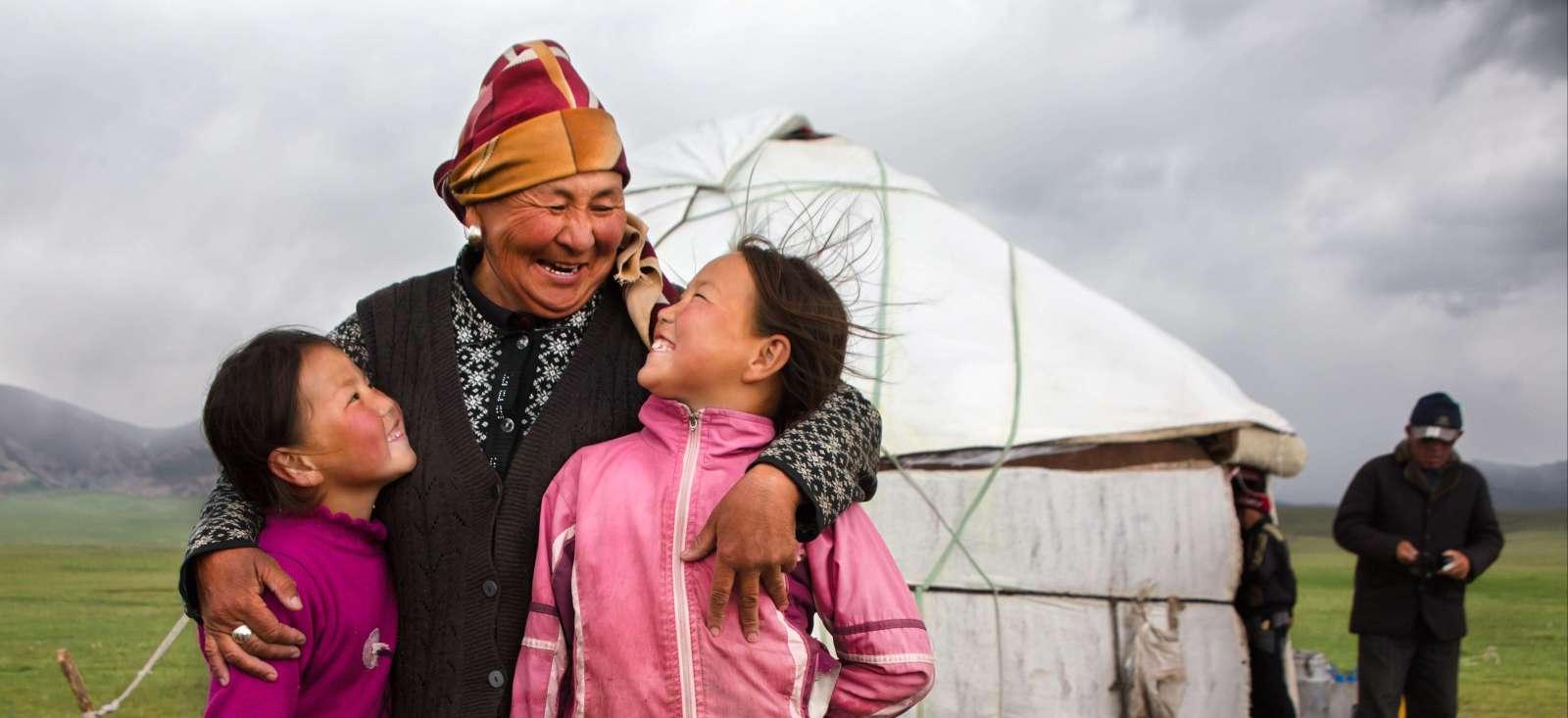 Voyage à pied : Immersion confort chez les Kirghiz