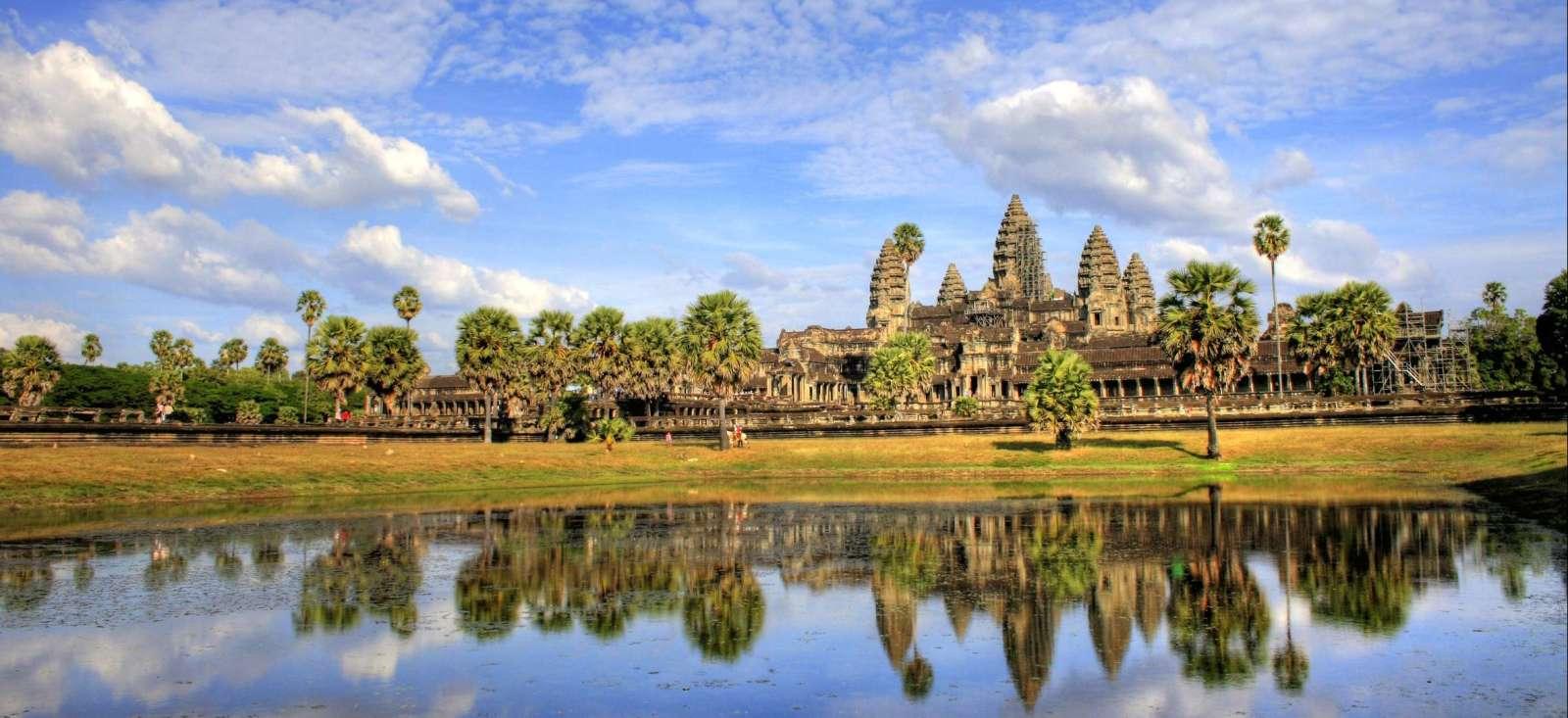 Voyage à pied : Vivez l\'héritage Khmer
