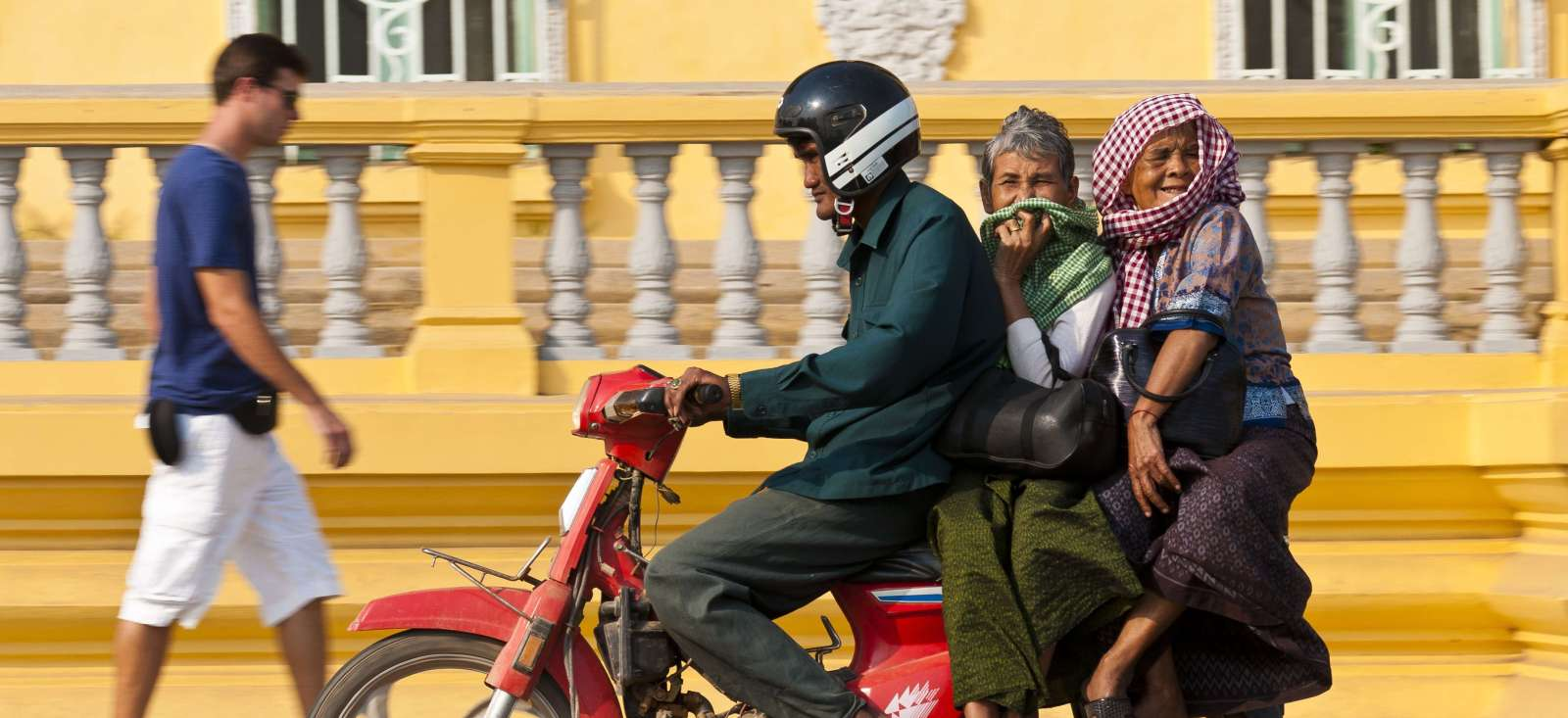 Voyage à pied : Le Cambodge, scoot Angkor !