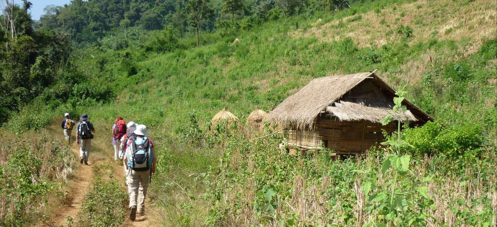 Voyage à pied : Tribus du Nord, sud Laos & temple d\'Angkor