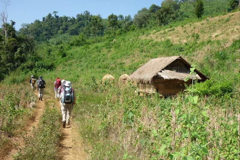 Voyage à pied : Tribus du Nord, sud Laos & temples d\'Angkor