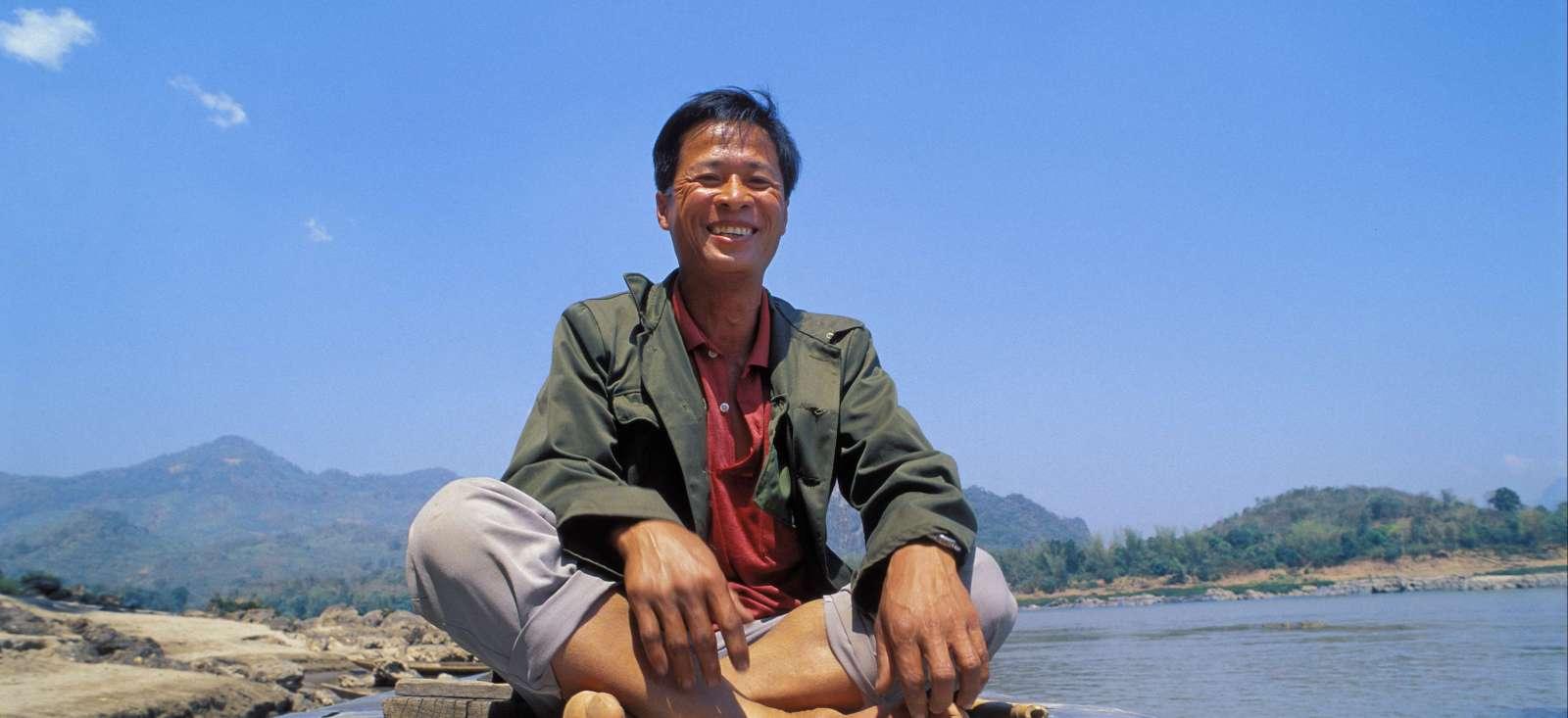 Voyage à pied : Au fil du Mékong