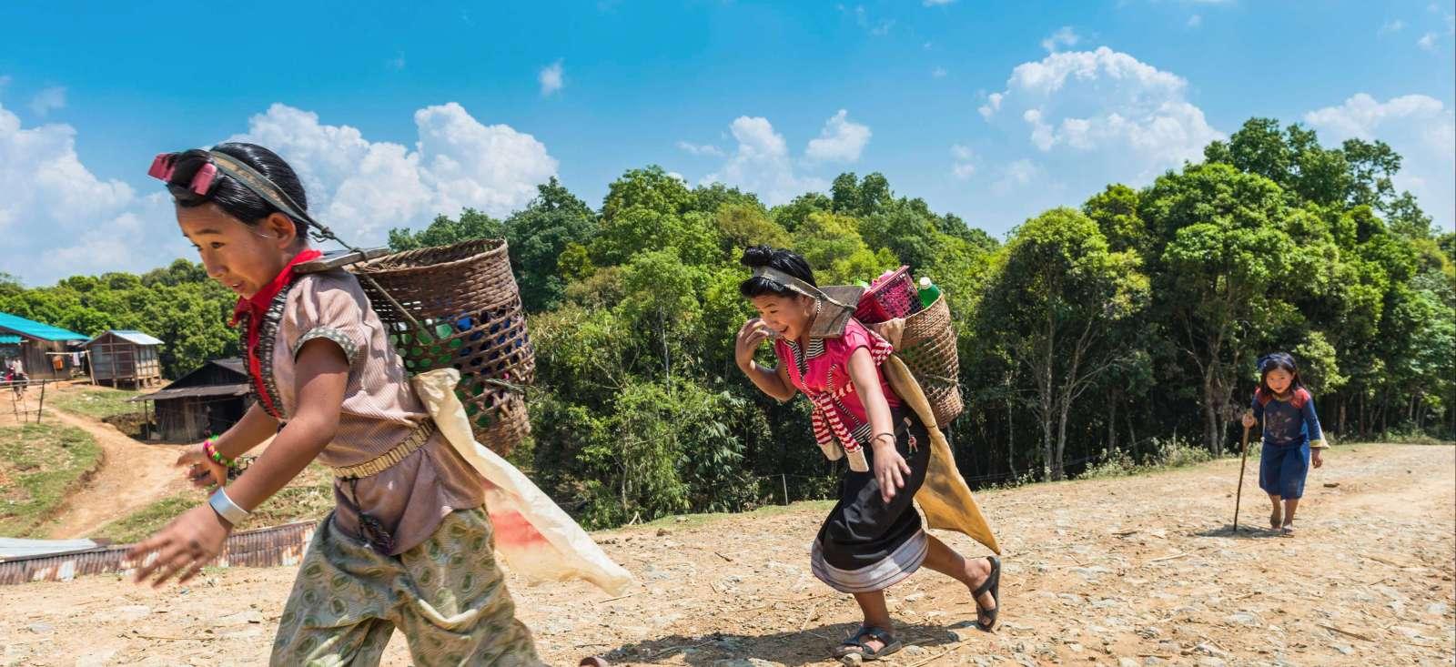 Voyage à pied : Laos : Les Tribus du Nord