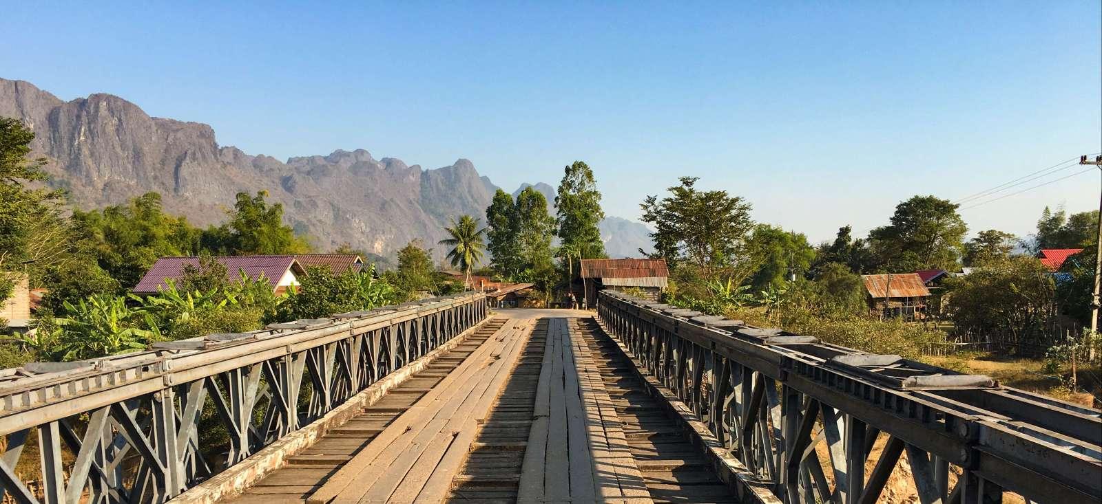 Voyage à pied : Le meilleur du Laos !