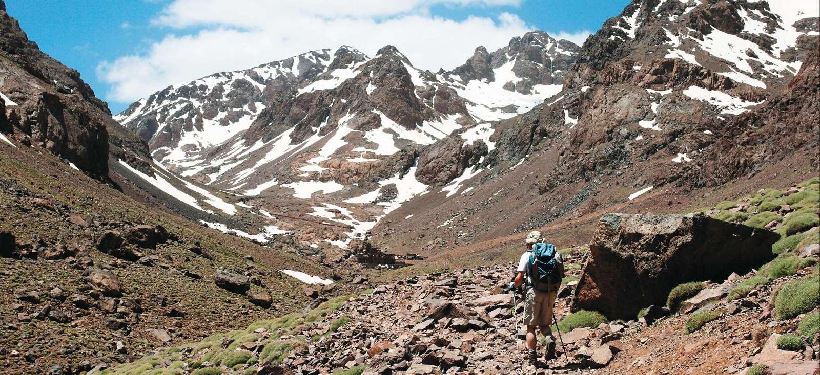 """Voyage à pied Maroc : Rando Toubkal """"4200"""" (traversée nord-sud)"""