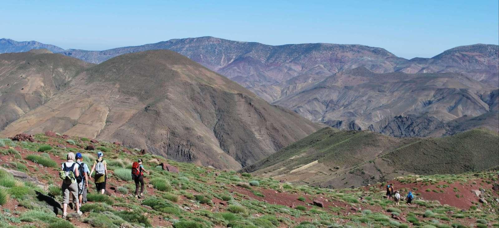 Voyage à pied : Maroc : Du M\'Goun au Toubkal