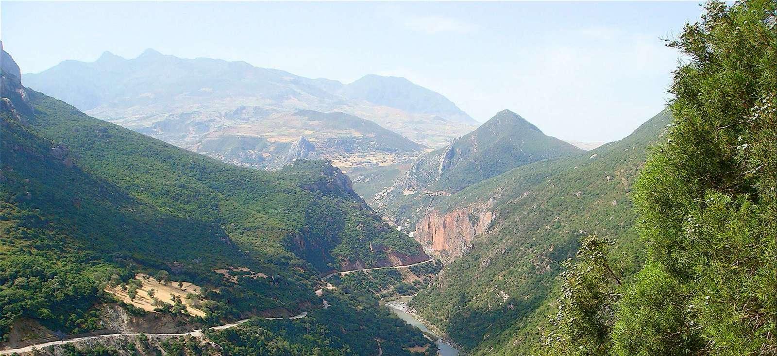 Voyage à pied : Maroc : Djebels du Rif et M\'diterrannée