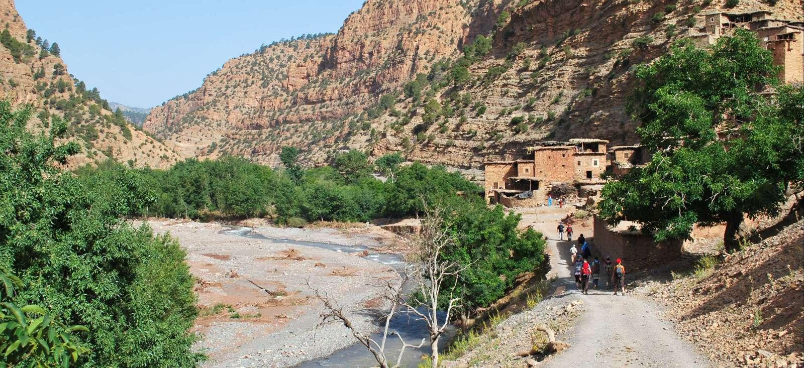 Voyage à pied : Maroc : Chants de la Tessaout (Atlas central)