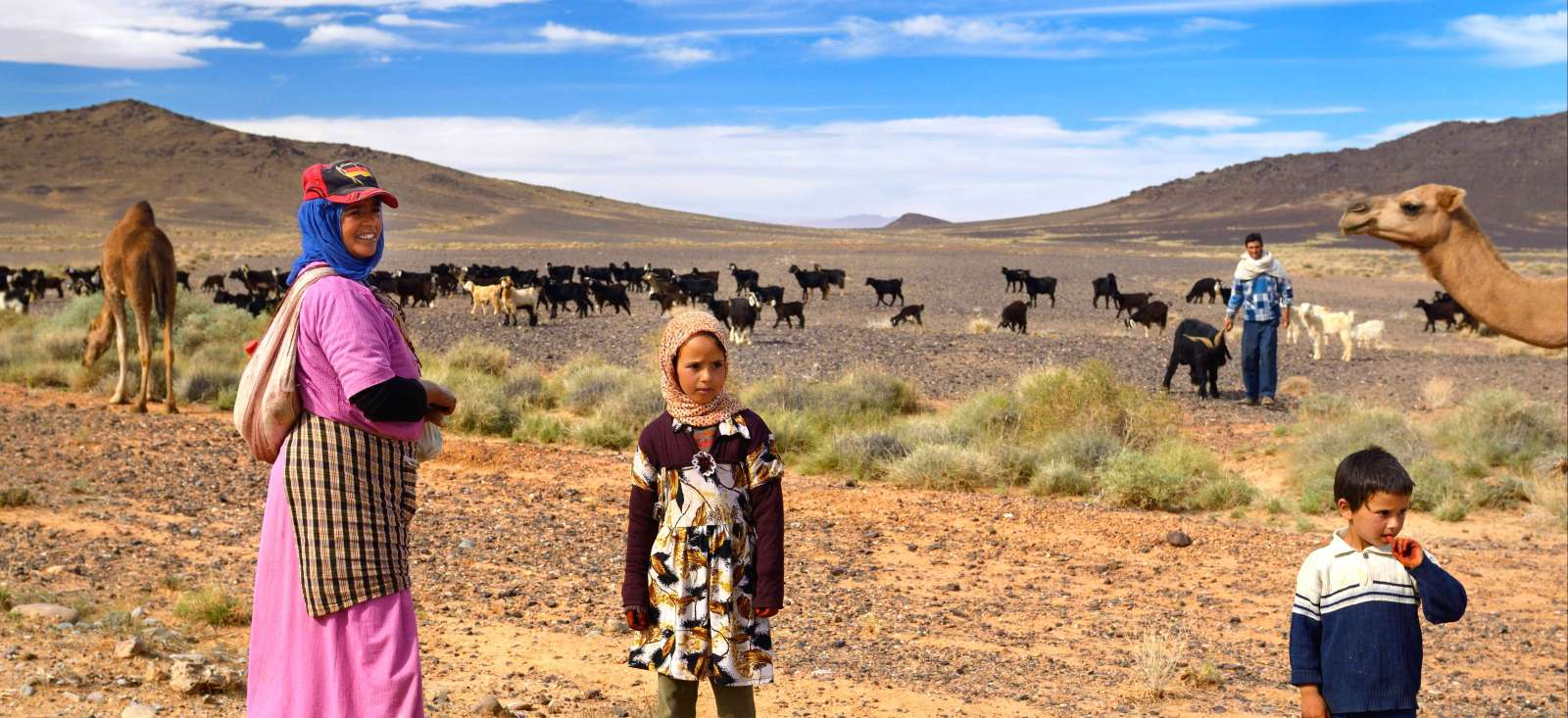 Voyage à pied : J\'aime la vie berbère