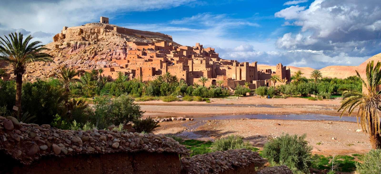 Voyage à pied : Maroc : Citadelles rouges