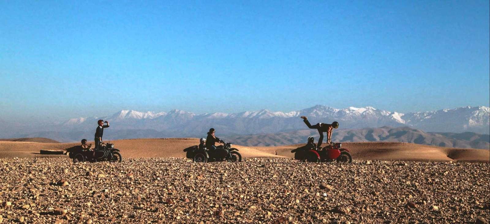 Voyage à pied : Un Ride pour Marrakech
