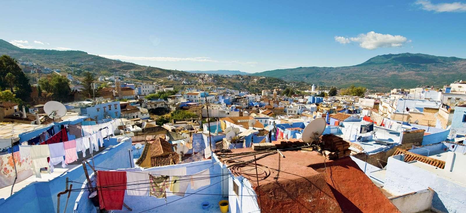 Voyage à pied : Villes impériales et région andalouse
