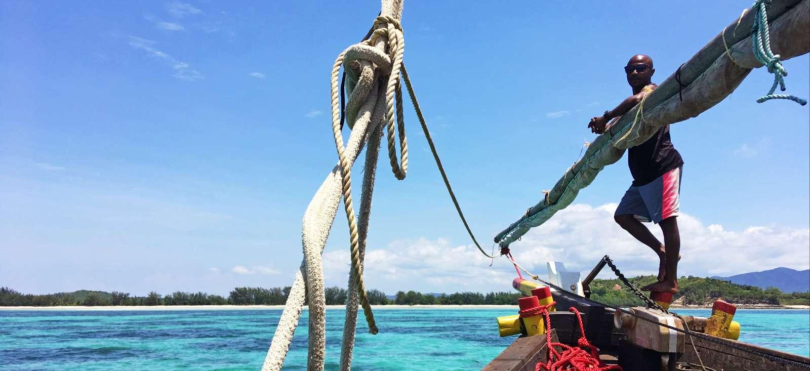 Voyage à pied : Madagascar : Trek Robinson entre terre et mer!