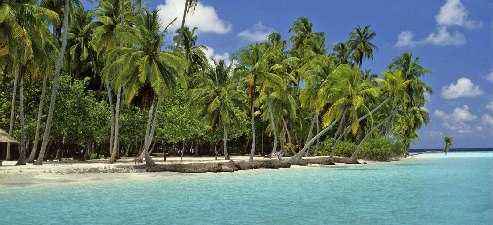 Voyage à pied Maldives : Cabotage d\'atoll en lagon !