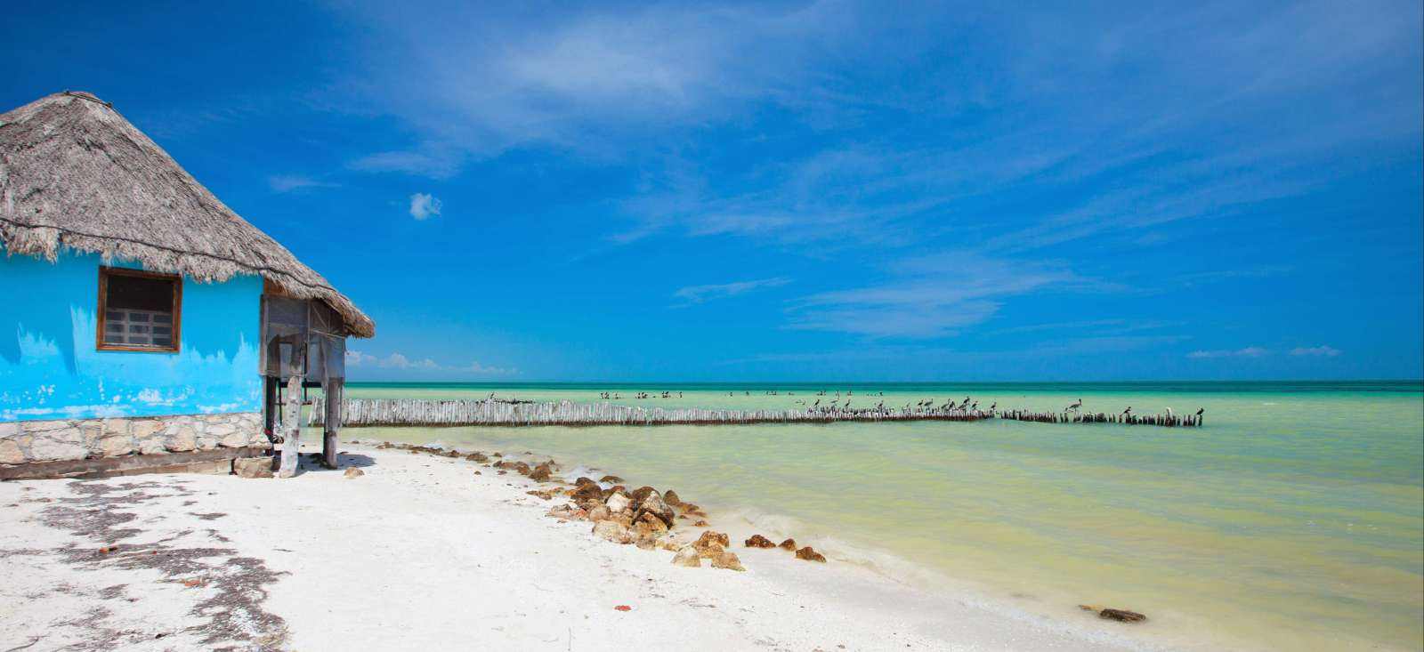 Voyage à pied Mexique : Holbox, farniente au paradis