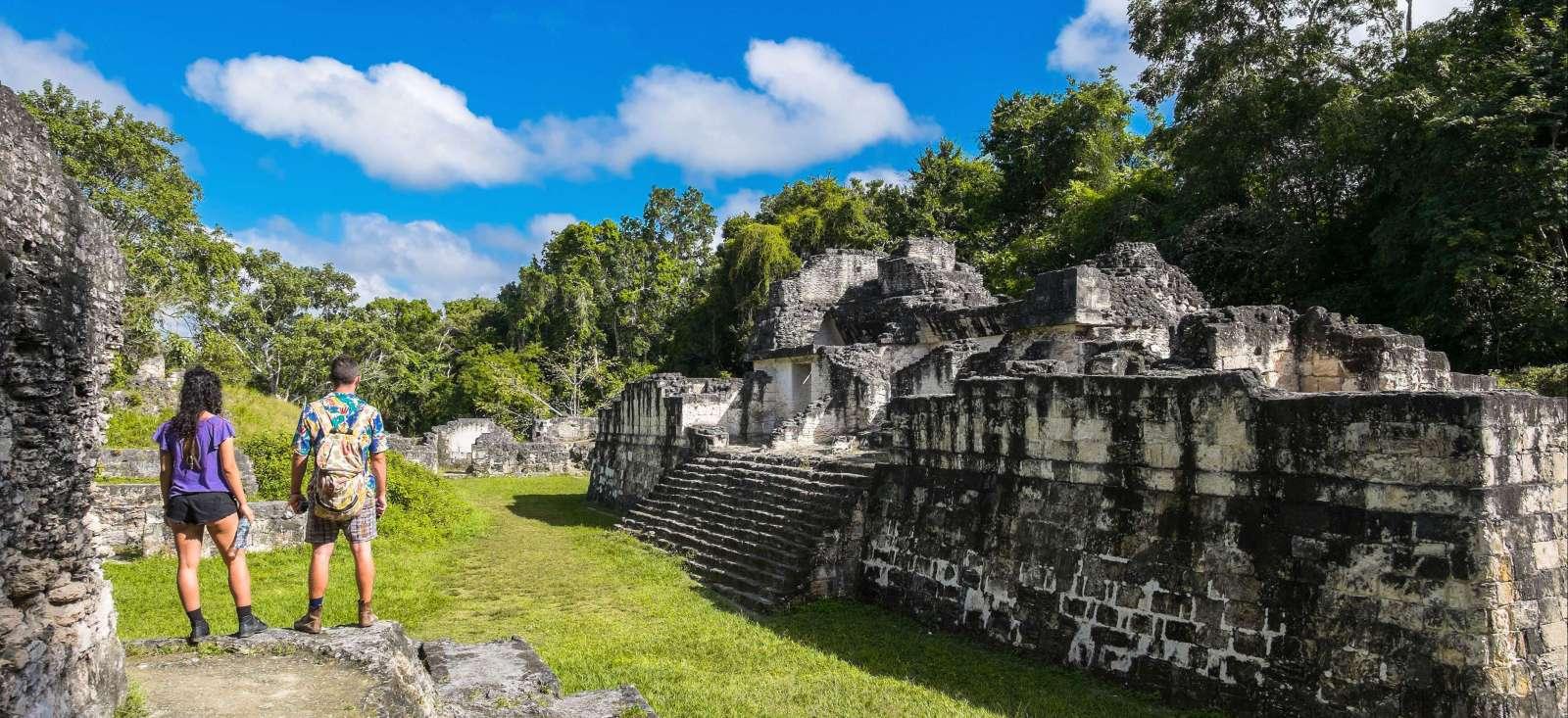 Voyage à pied :  L\'odyssée Maya
