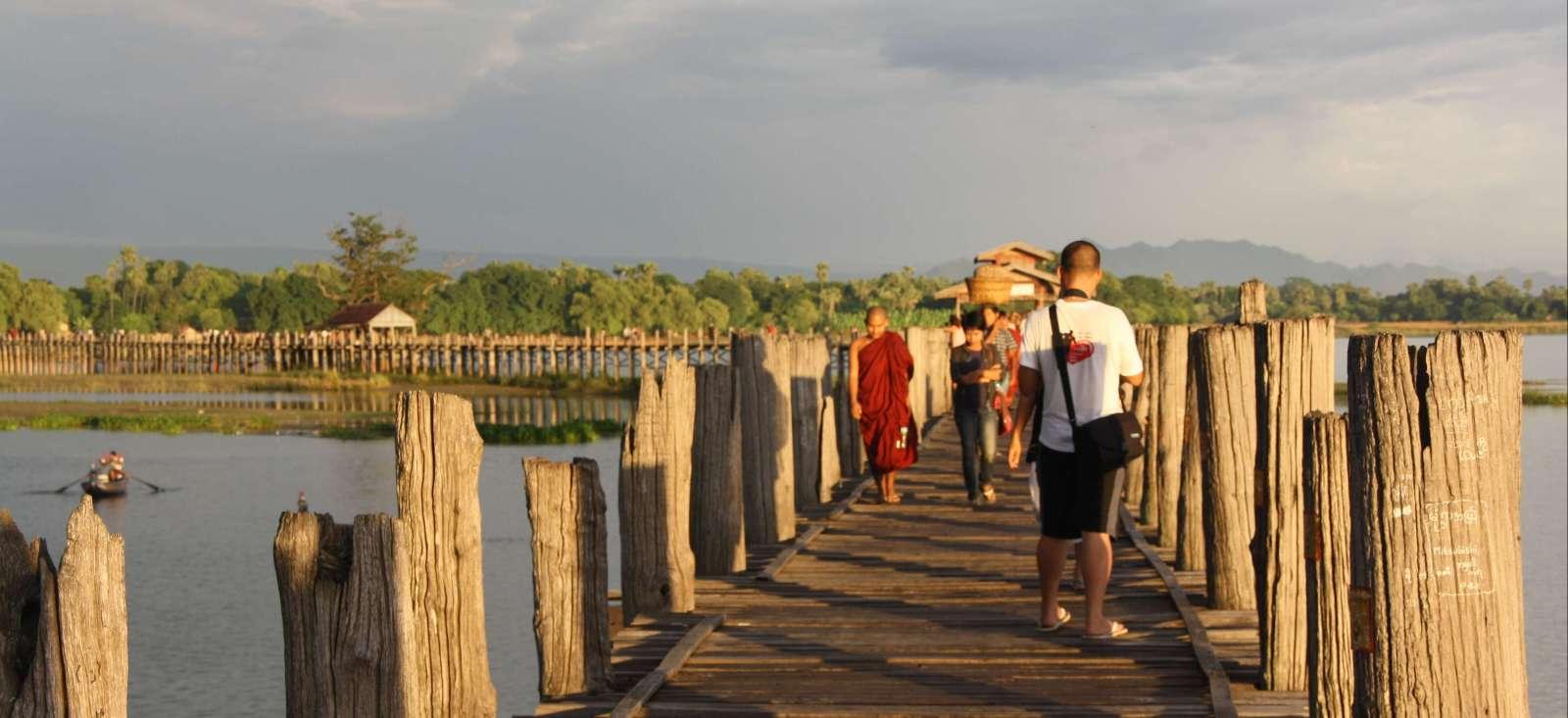 Voyage à pied : Nomade au pays du thanaka