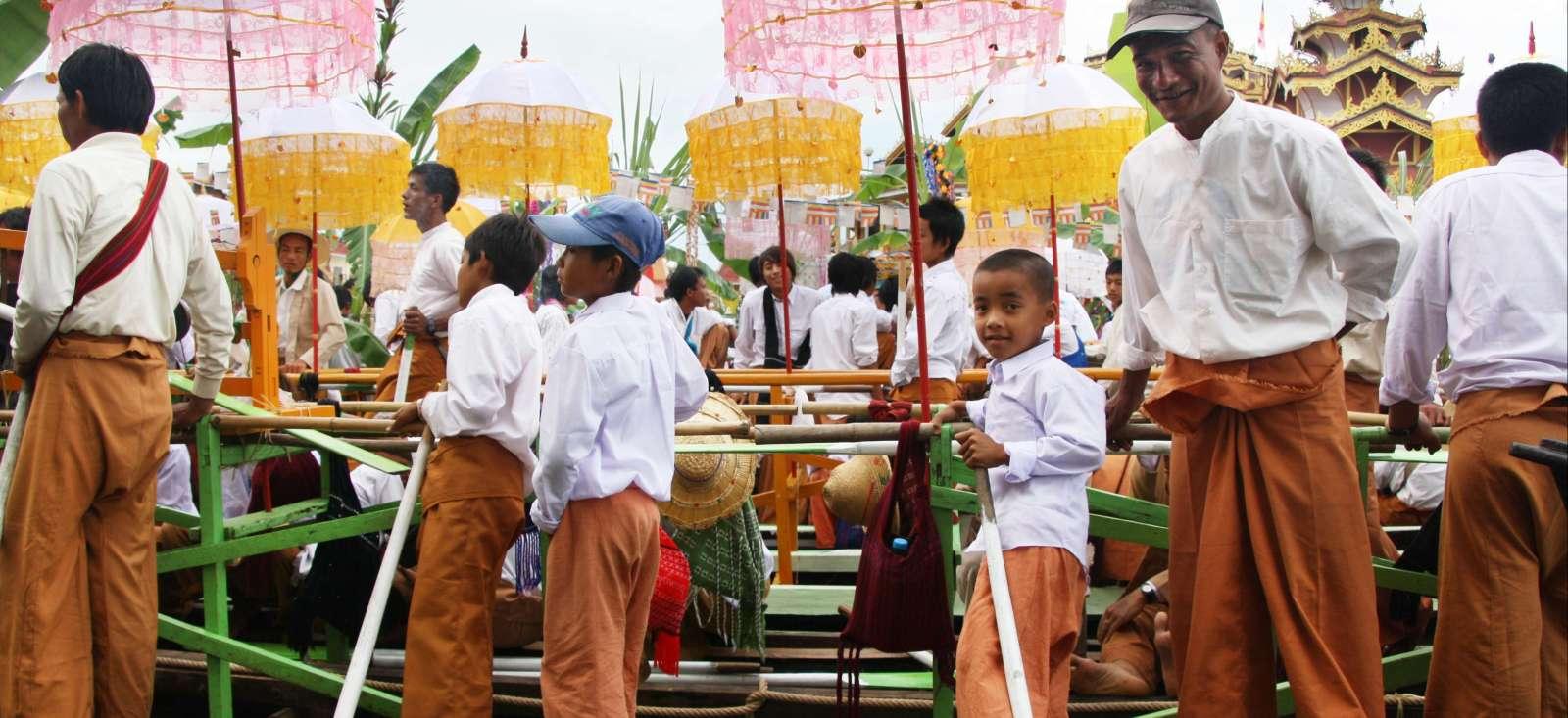 Voyage à pied : Birmanie : Festival du Lac Inlé !