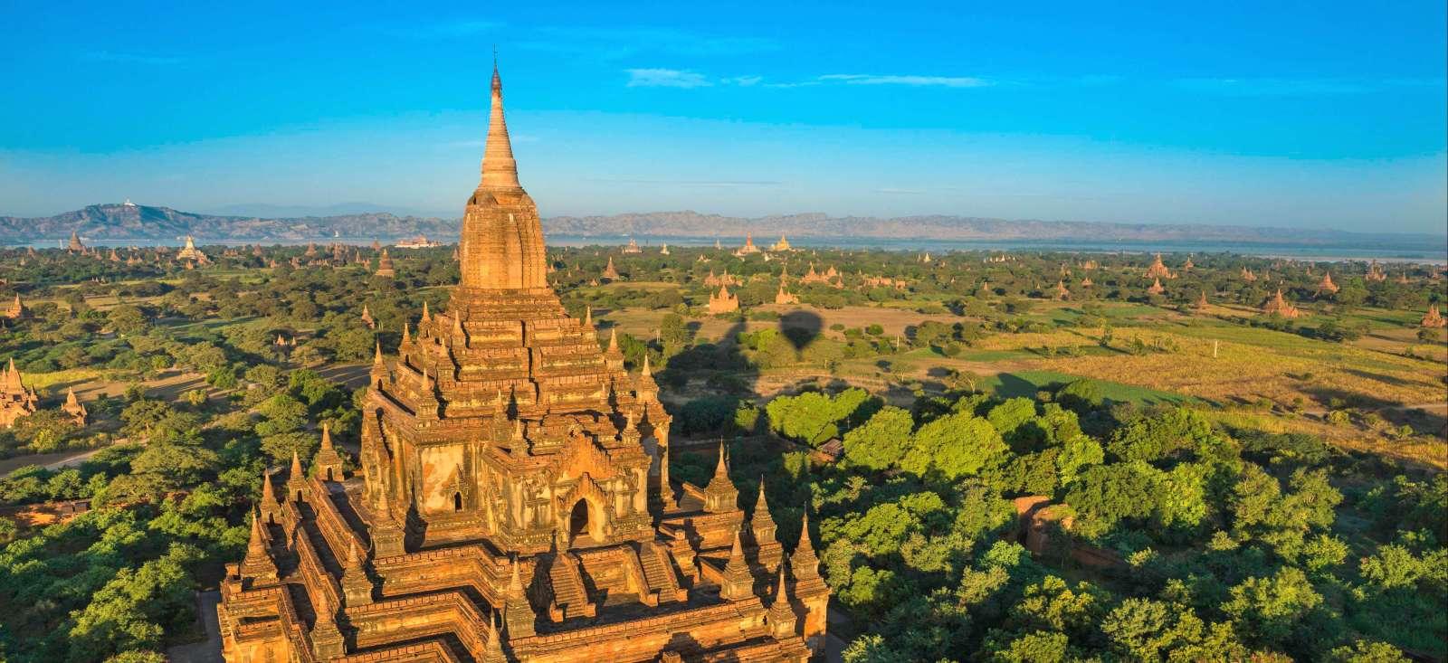 Voyage à pied : Balade en Terre Birmane