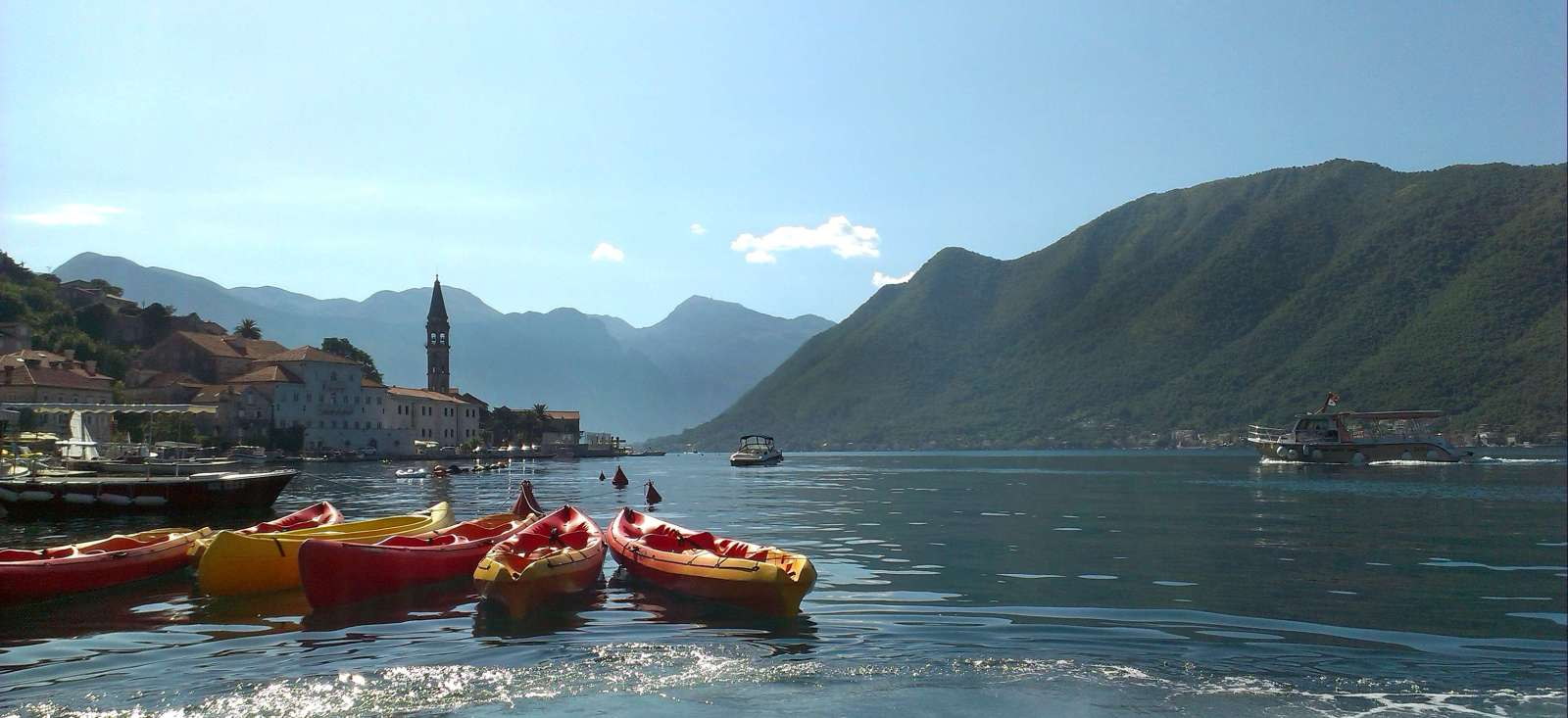 Image Kayak et rando dans les bouches de Kotor