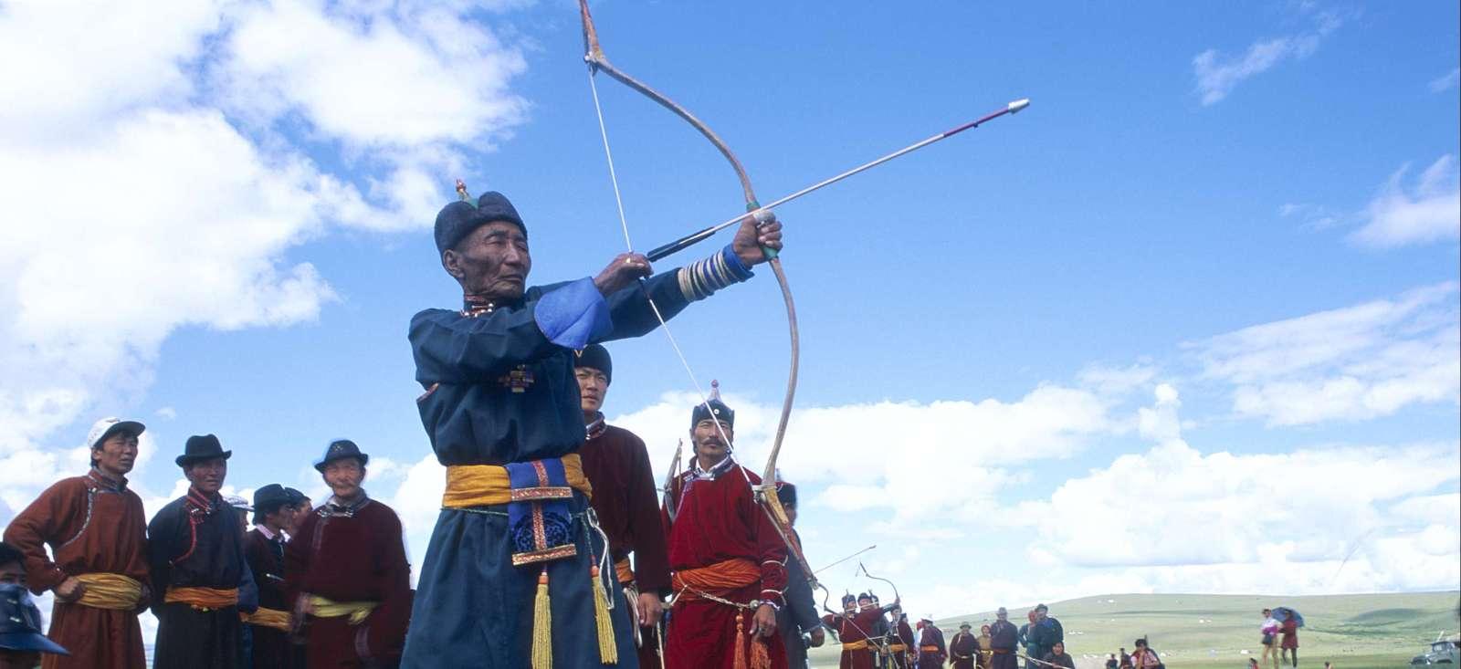 Voyage à pied : Festival de Naadam