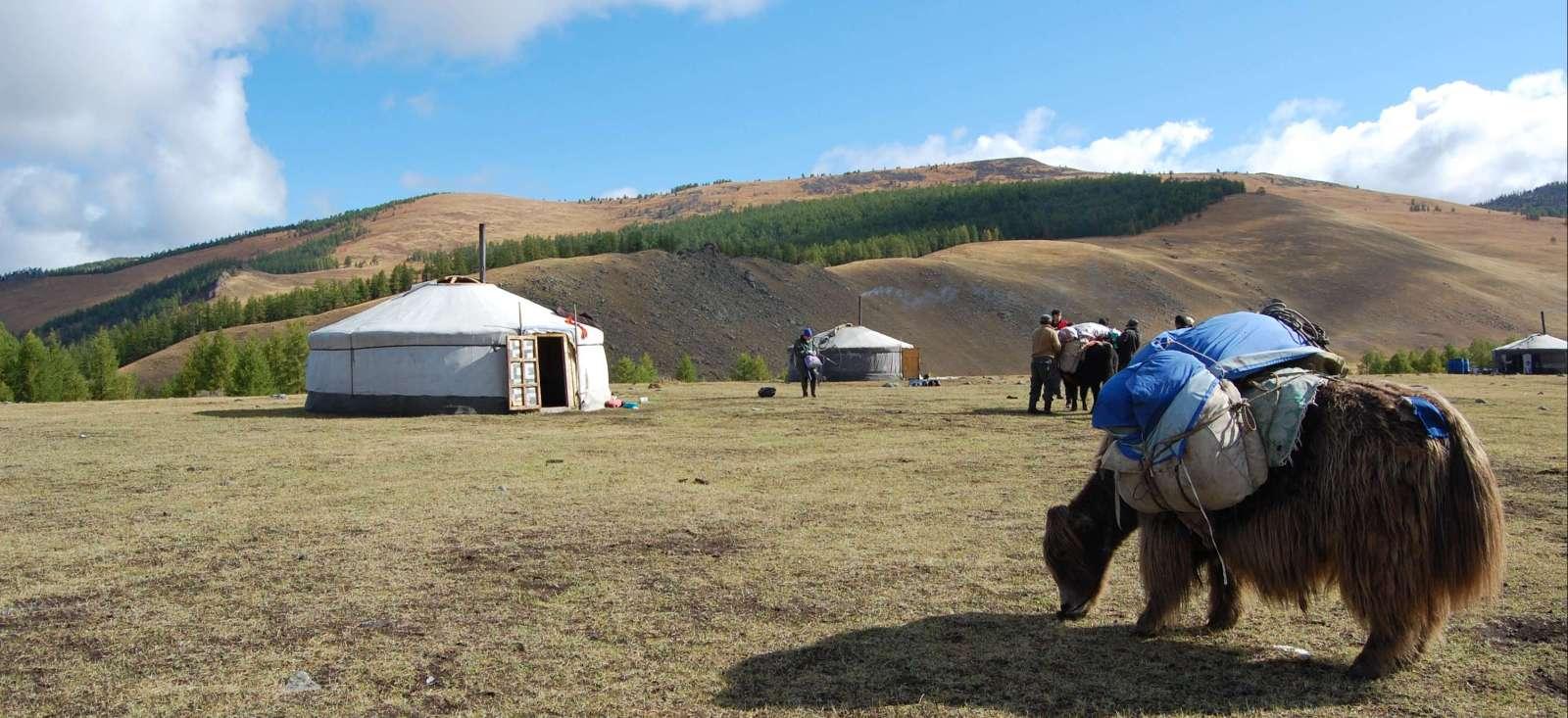 Voyage à pied : Rando et rencontres dans l\'Arkhangaï