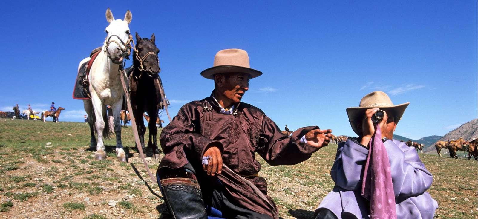 Voyage à pied : Grande traversée de la Mongolie