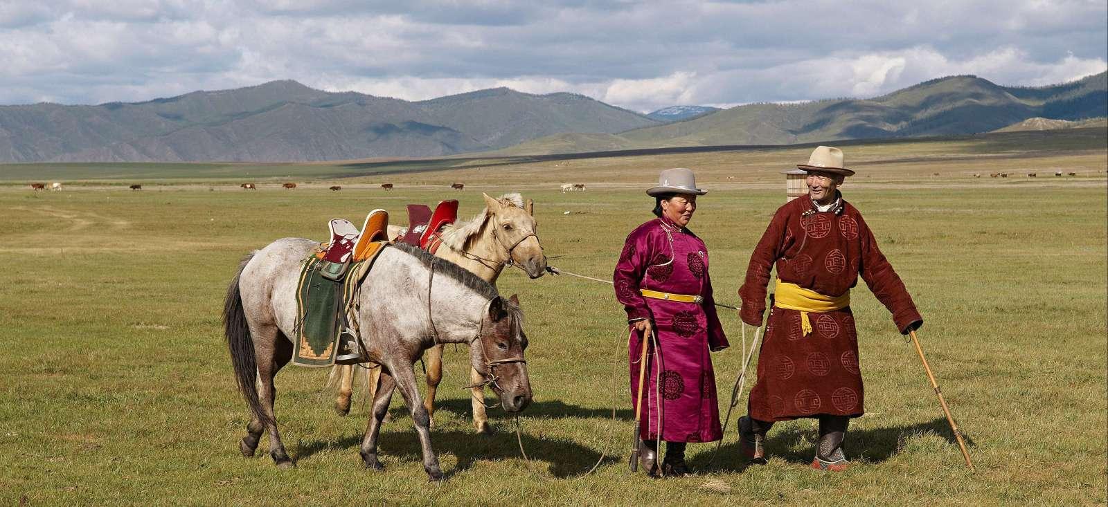 Voyage à pied : Mongolie : A tout crin dans le Khangai