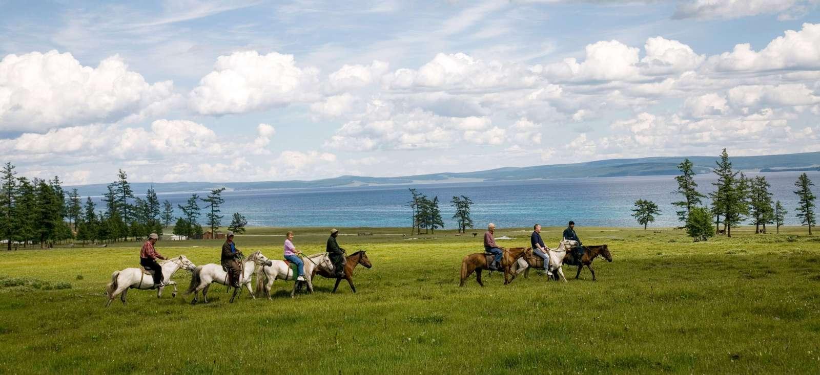 Voyage à pied : Mongolie : Le Khövsgöl, terre inconnue