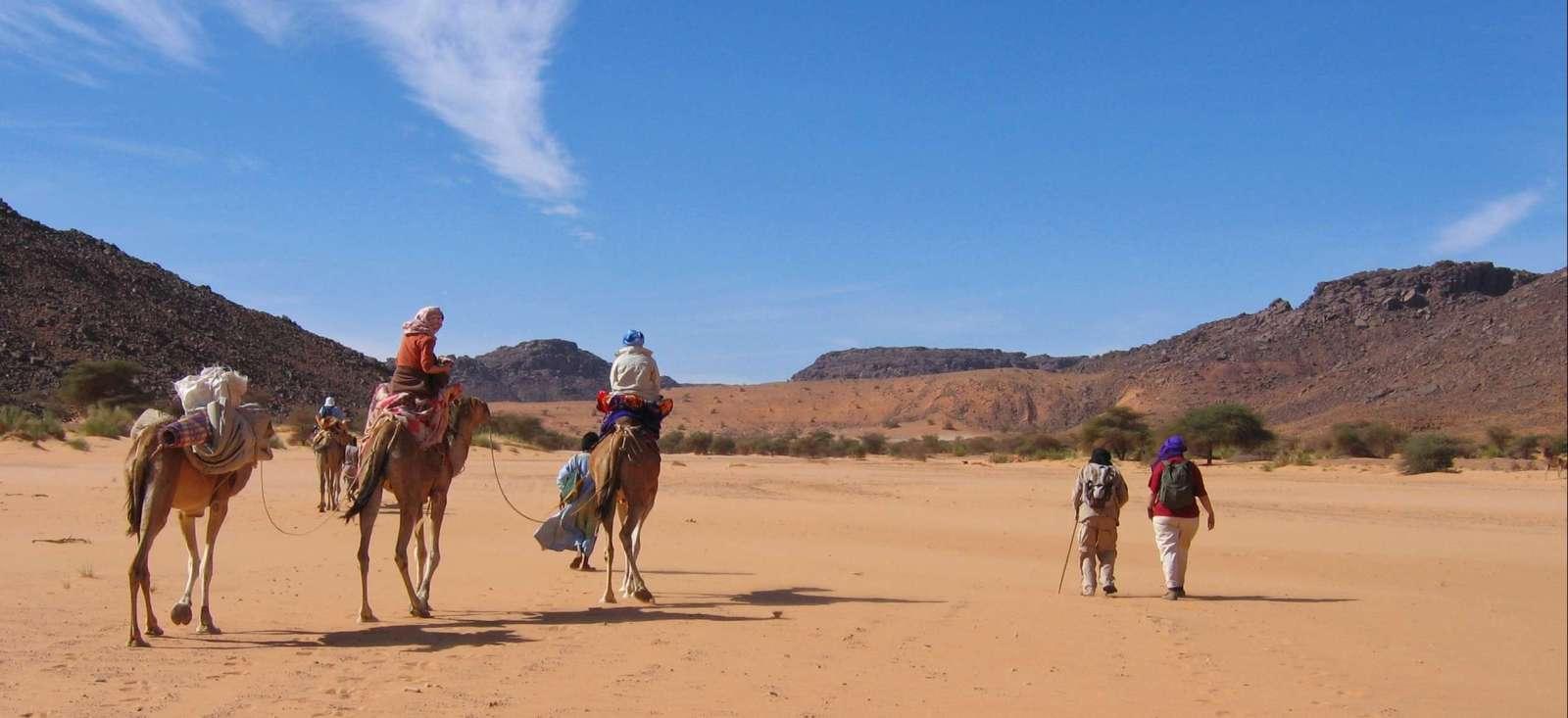 Voyage à pied : Mauritanie : Charme de l\'Adrar