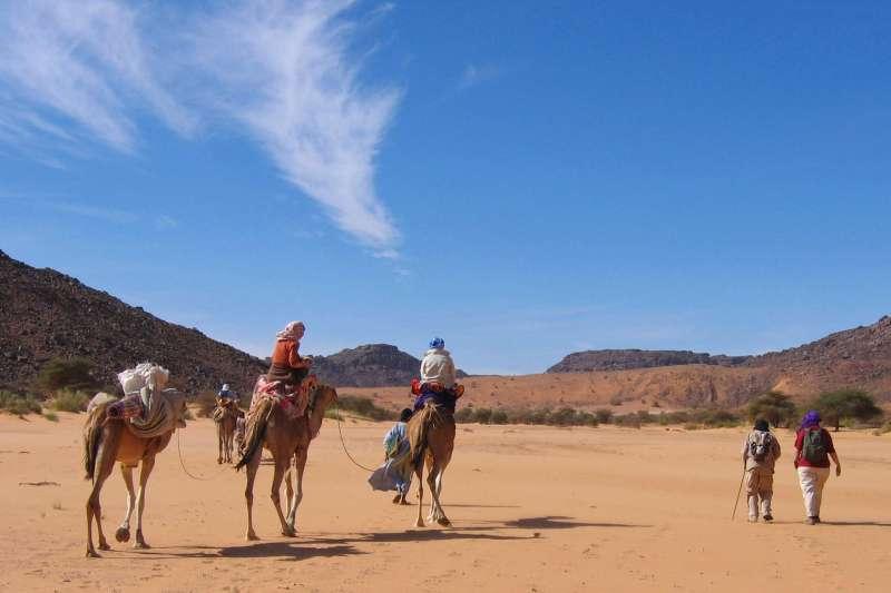 Voyage à pied : Charme de l\'Adrar