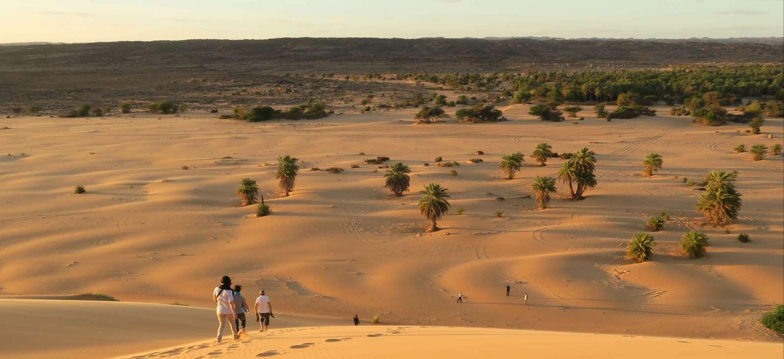 Voyage à pied : Mauritanie : Petits et grands explorateurs de l\'Adrar