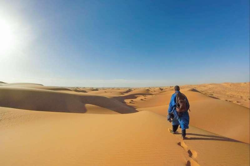 Voyage à pied : Mauritanie : Dunes et oasis de l\'Amatlich